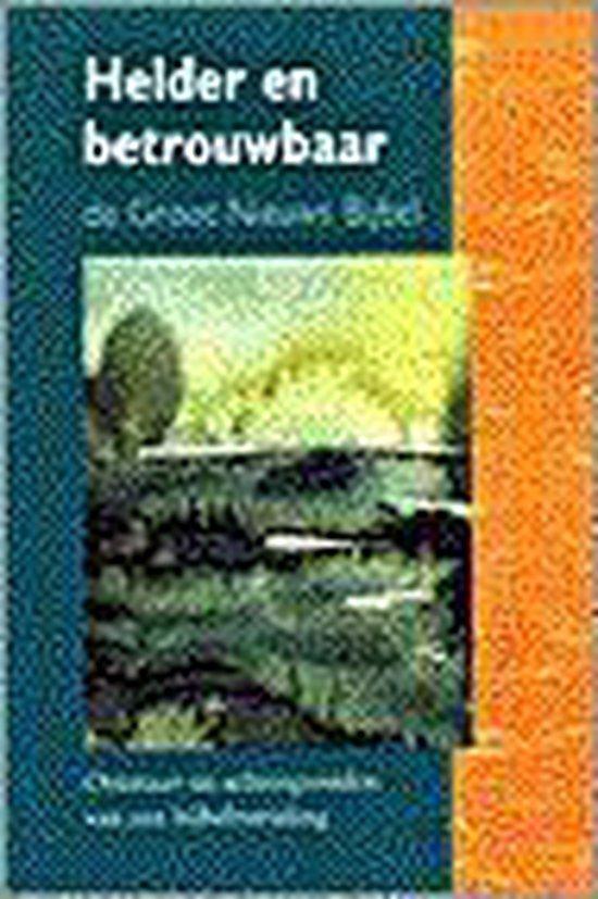 Boek cover Helder en betrouwbaar van Jaap van Dorp (Onbekend)
