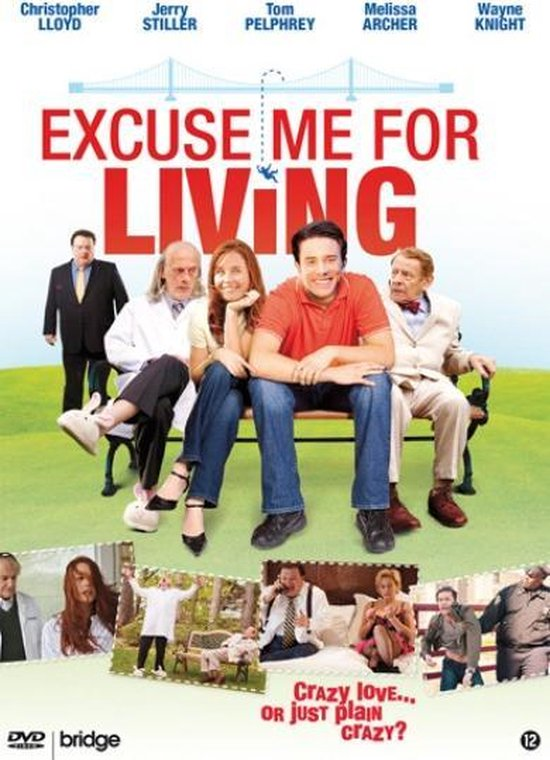 Cover van de film 'Excuse Me For Living'