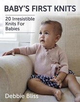 Boek cover Babys First Knits van Debbie Bliss