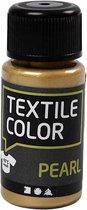 Textile Color, goud, pearl, 50ml