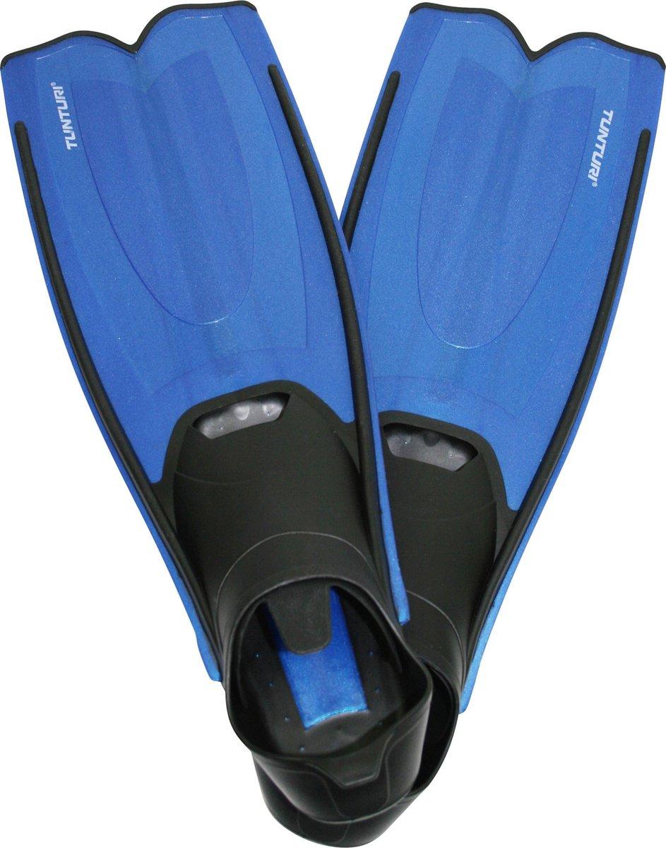 Tunturi Flipper Zwemvliezen - 36-37 - Zwart/Blauw - Tunturi