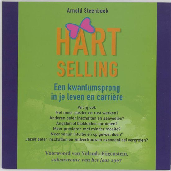 Cover van het boek 'Hart Selling' van A.J. Steenbeek