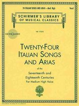Afbeelding van Twenty-Four Italian Songs & Arias Of The 17/18th Centuries - Medium-High Voice (Book/Online Audio)