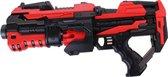 Tack Pro Attack 1 10 Darts Blaster 45 cm Zwart/Rood (darts incl)