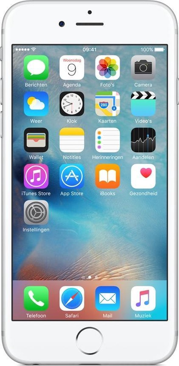 Apple iPhone 6S - Refurbished door Forza - A grade (Zo goed als nieuw) - 64GB - Wit