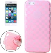 iphone 6 / 6s (4.7 inch) TPU Cover, hoesje, case transparant roze