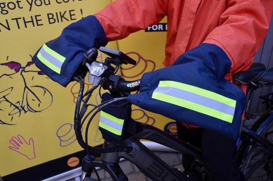 HATSOME verwarmde fietswanten (Sport) Neon orange