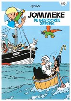 Jommeke 150 - De Gestoorde Zeereis