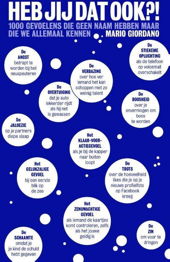 Cover van het boek 'Heb jij dat ook?!' van Mario Giordano