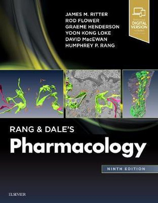 Boek cover Rang & Dales Pharmacology van James Ritter (Paperback)