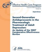 Second-Generation Antidepressants in the Pharmacologic Treatment of Adult Depression