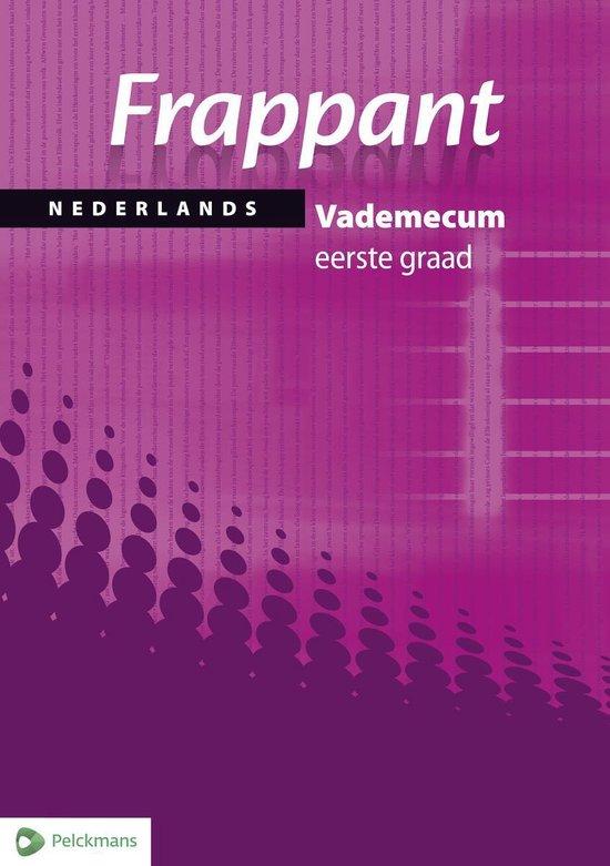 Frappant Nederlands 1e graad Vademecum - none | Fthsonline.com