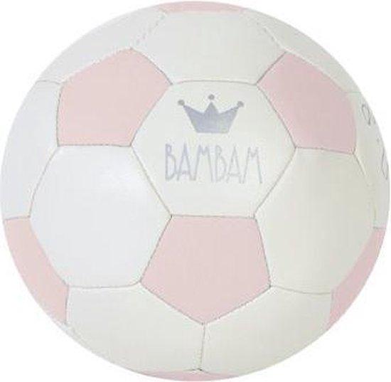 BamBam Kindervoetbal - Zacht Materiaal - Diameter 12 cm - Roze