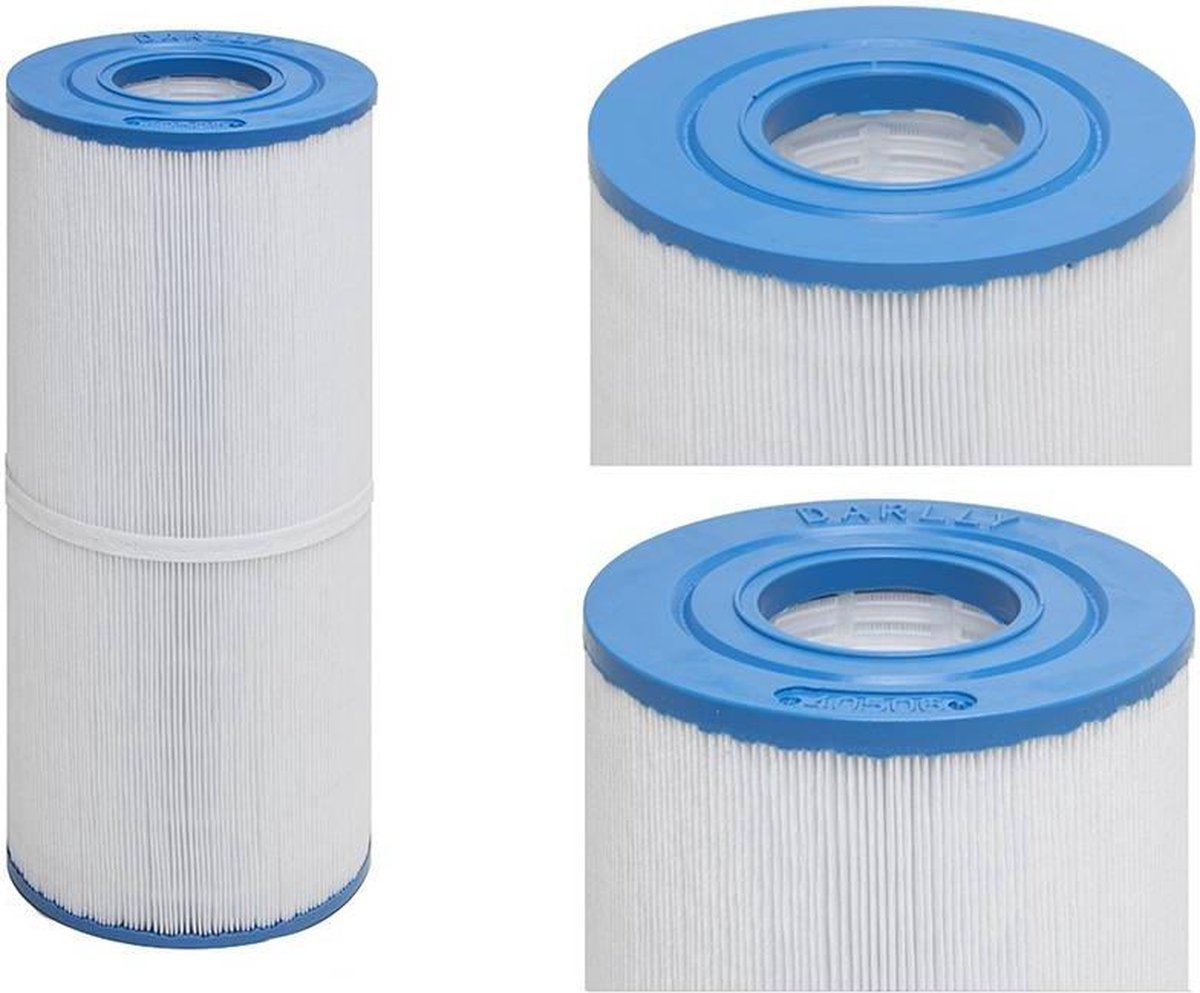 Lamel filter - Lamel - Filter - Jacuzzi - 34cm - Spa filter - 2 gaten - Spa - Hottbub - 2 gaten