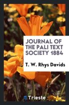 Journal of the Pali Text Society 1884