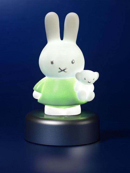 Nachtlampje - Nijntje - Mint groen met zilver