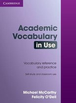 Boek cover Academic Vocabulary in Use with Answers van Michael Mccarthy
