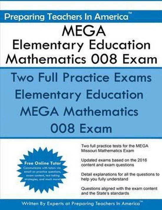 Mega Elementary Education Mathematics 008 Exam