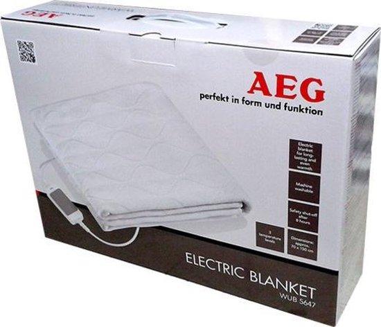 AEG WUB5647 - Elektrische onderdeken met oortjes - 150x70 cm