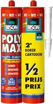 Bison Poly Max High Tack Express 425 g duopack wit