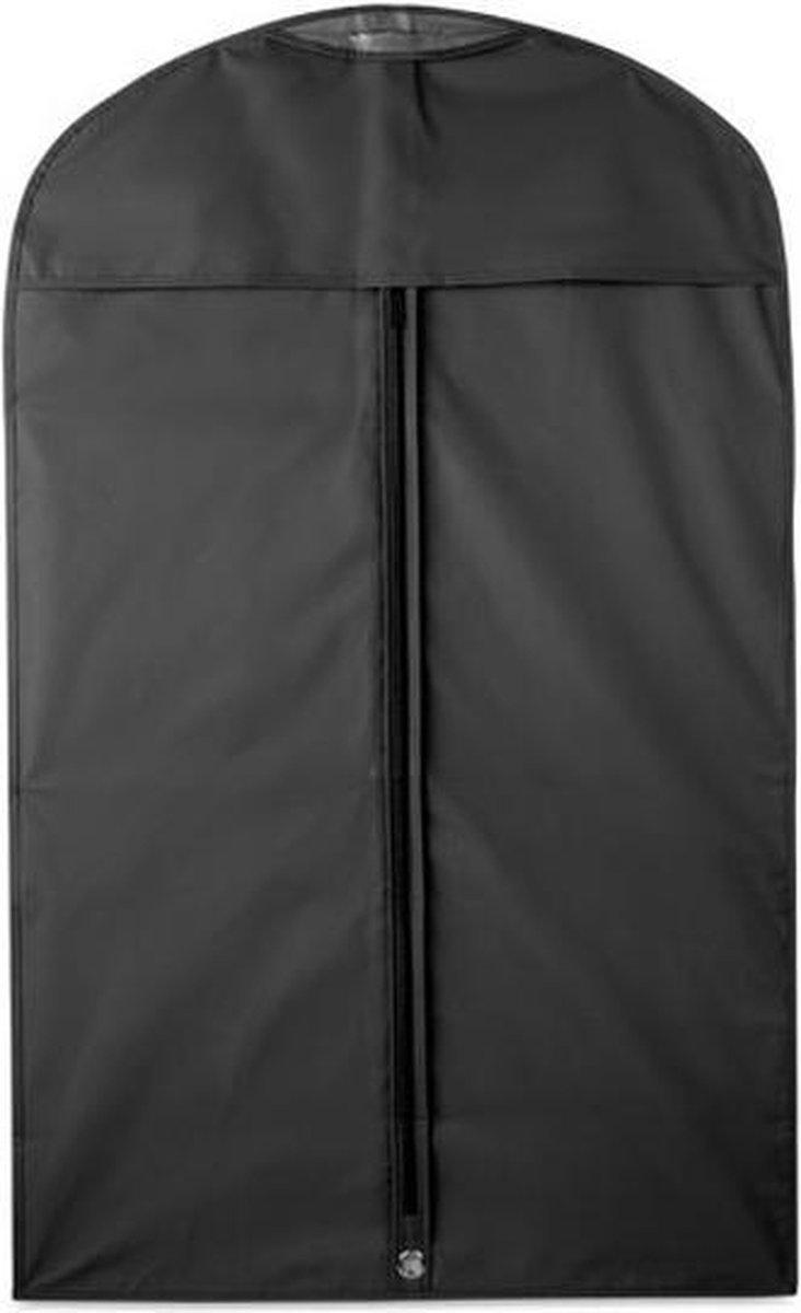 Beschermhoes voor kleding zwart 100 x 60 cm - Kledinghoezen - Kleding opbergen accessoires