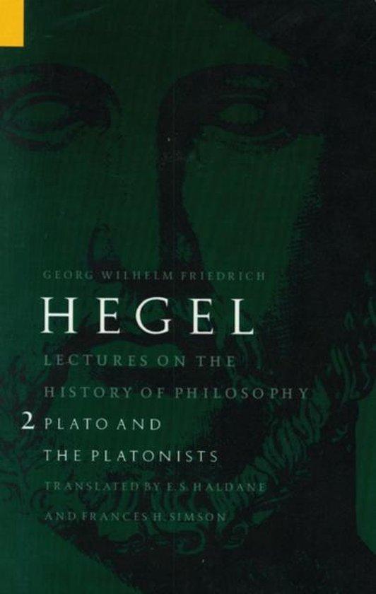 Boek cover Lectures on the History of Philosophy, Volume 2 van Georg Wilhelm Friedrich Hegel (Paperback)