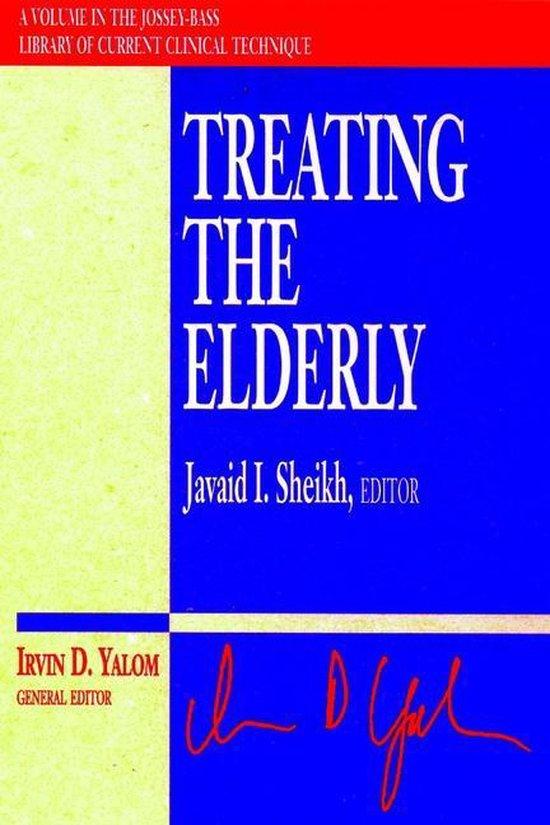 Boek cover Treating the Elderly van Javaid I. Sheikh (Paperback)
