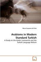 Arabisms in Modern Standard Turkish