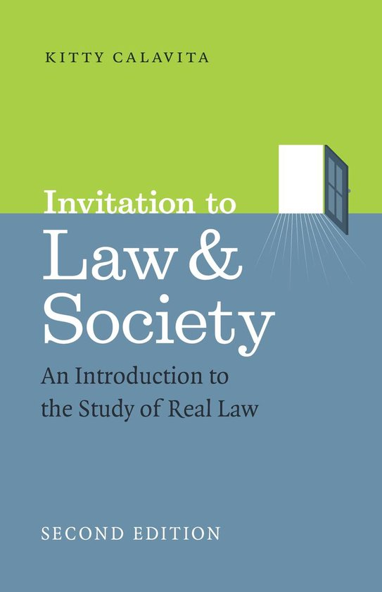 Boek cover Invitation to Law and Society, Second Edition van Kitty Calavita (Onbekend)