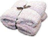 Unique Living Knut - Fleece - Plaid - 150x200 cm - Old Pink