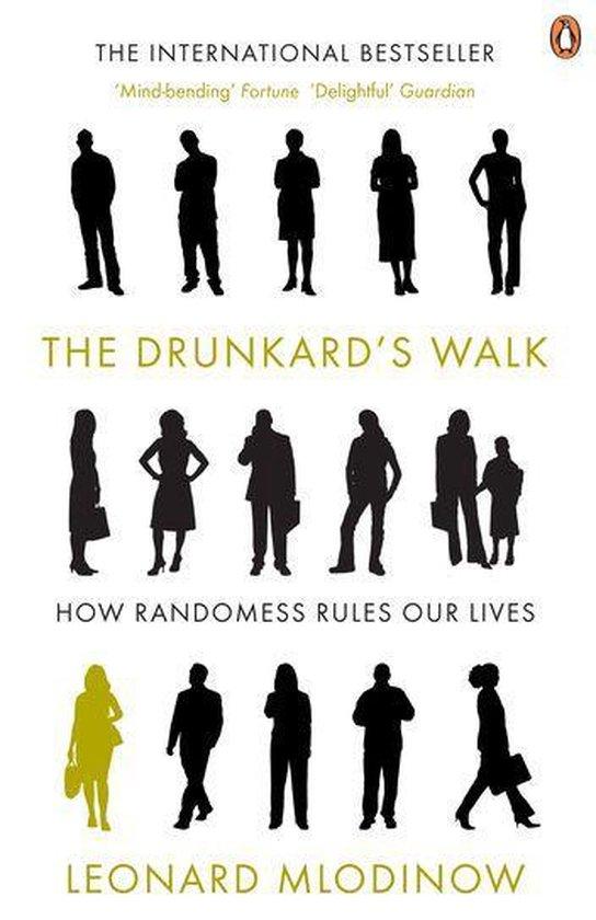 Boek cover The Drunkards Walk van Leonard Mlodinow (Onbekend)