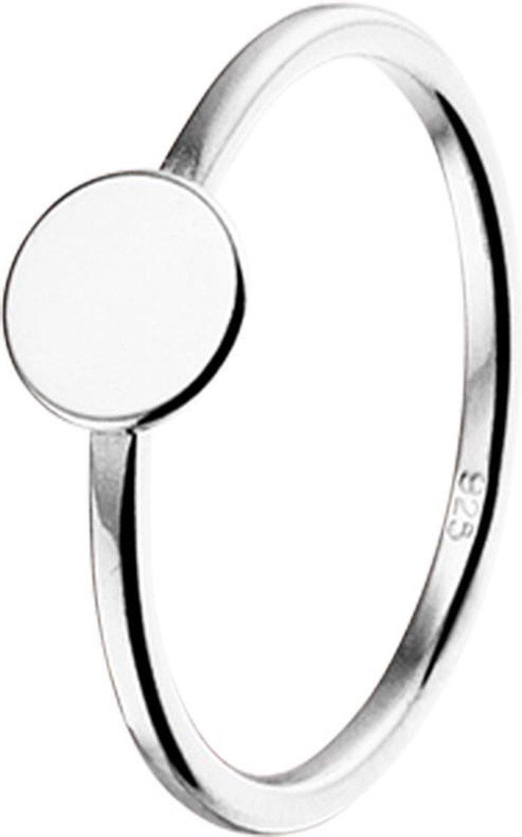 Glams Ring Rondje - Zilver