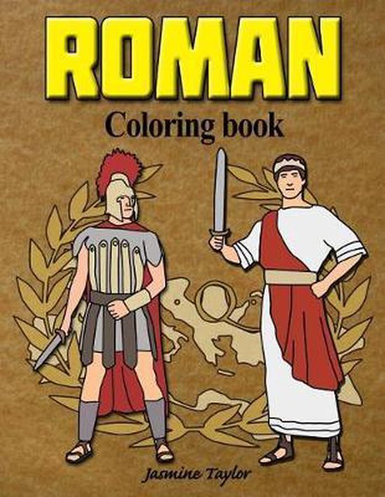 Roman Coloring Book