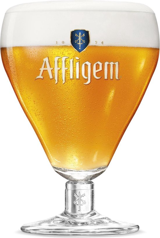 Affligem speciaal bierglazen - 30cl - 6 stuks