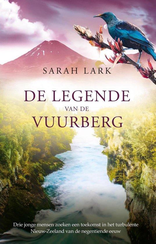 Boek cover Nieuw-Zeeland: Rata Station 3 - De legende van de vuurberg van Sarah Lark (Onbekend)