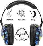 IMPAQT Gehoorbeschermer voor kinderen - Gehoorbescherming - oorkappen - Deepsea Blue