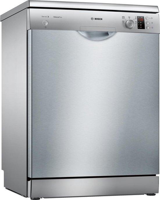 Bosch SMS25AI04E Serie 2 - Vrijstaande vaatwasser - RVS