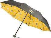 Dresz Paraplu No Rain, No Flowers 96 Cm Grijs