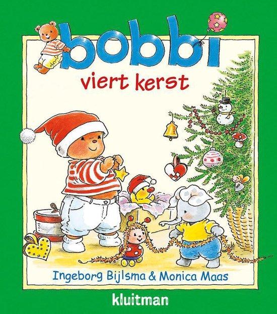 Boek cover Bobbi  -   Bobbi viert kerst van Ingeborg Bijlsma (Hardcover)