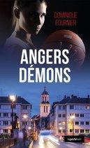 Boek cover Angers démons van Dominique Fournier (Onbekend)