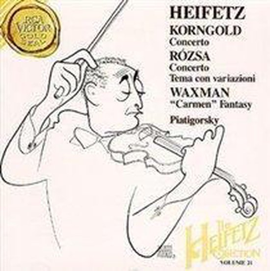 The Heifetz Collection Vol 21 - Korngold, Rozsa, Waxman