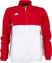adidas Sportjas Maat XS Vrouwen roodwit