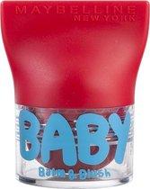Maybelline Babylips Balm & Blush - 05 Booming Ruby - Roze - lipbalm & Blush in één