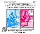 Sonatas For Two Violins Op.2 / Op.5