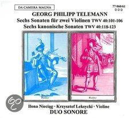 Sonatas For Two Violins Op.2 / Op.5