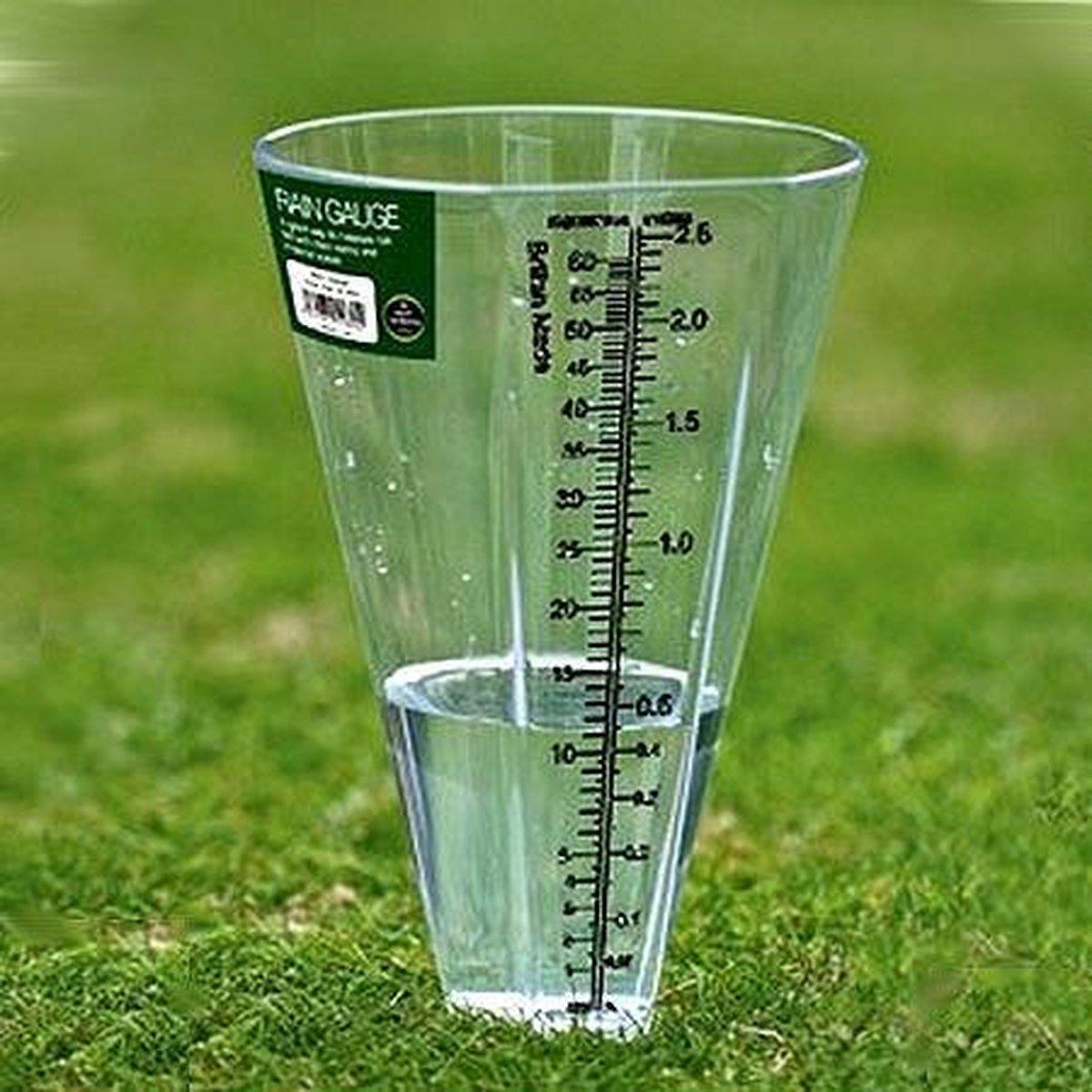 Stevige kunststof pluviometer - Merkloos