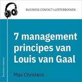 Omslag De 7 managementprincipes van Louis van Gaal
