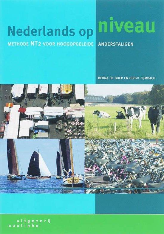 Boek cover Naderlands Op Niveau van Berna de Boer (Paperback)