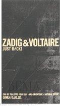 Zadig & Voltaire - Zadig & Voltaire Just Rock! For Him - Eau De Toilette - 50ML