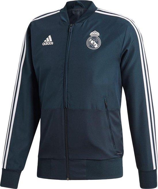 Adidas Real Madrid Trainingspak 2018-2019 Heren - Zwart/Wit